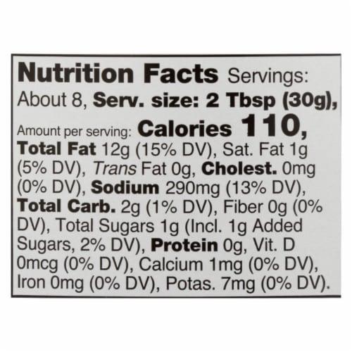 Daiya Foods - Dairy Free Salad Dressing - Creamy Italian - Case of 6 - 8.36 oz. Perspective: back