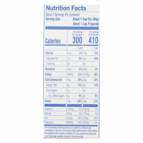 Modern Table - Mac&chs Vegan White Ched - Case of 6 - 5.89 OZ Perspective: back