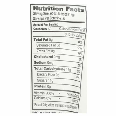 YumEarth Organics Organic Lemon Drops - Cheeky Lemon - 3.3 oz - Case of 6 Perspective: back