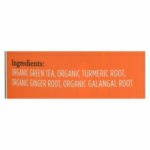 Paromi Tea - Green Tumeric Ginger - CS of 6-15 CT Perspective: back