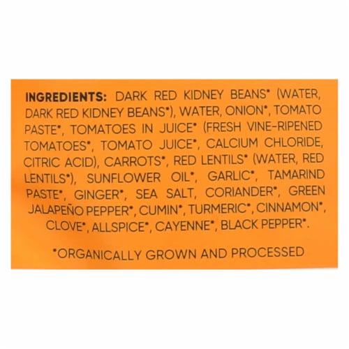 Maya Kaimal - Organic Everyday Dal - Kidney Bean Carrot Tamarind - CS of 6 -10 OZ Perspective: back