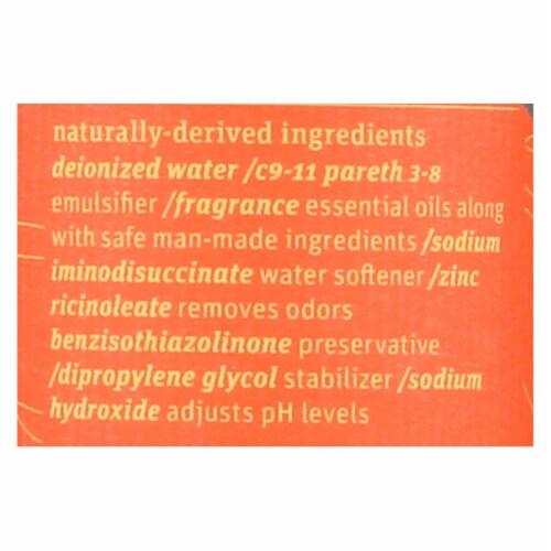 Grab Green Room & Fabric Freshener - Tangerine Lemongrass - Case of 6 - 7 fl oz Perspective: back