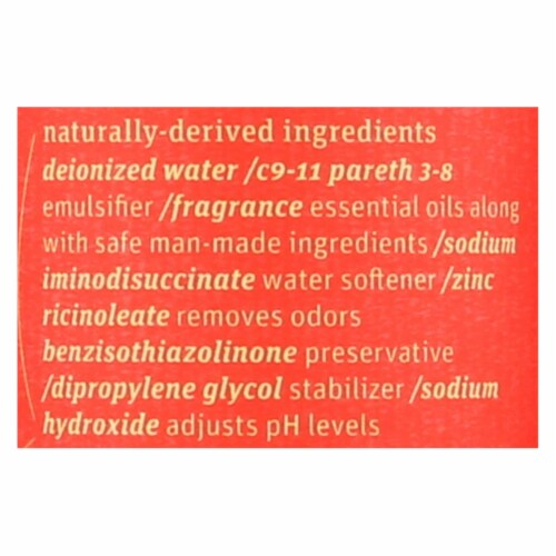 Grab Green Room and Fabric Freshener - Red Pear - Case of 6 - 7 Fl oz. Perspective: back