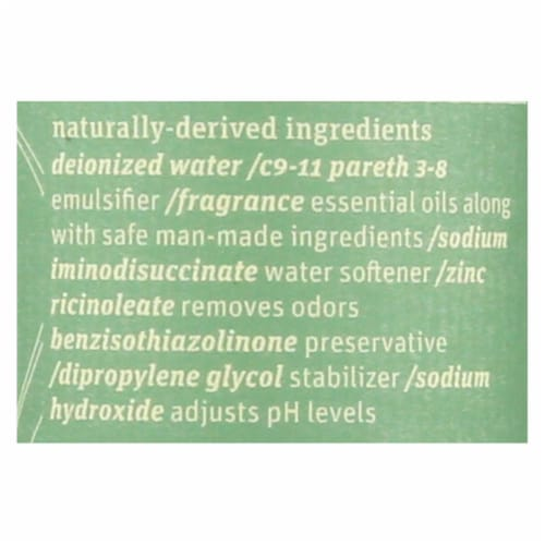 Grab Green Room and Fabric Freshener - Vetiver - Case of 6 - 7 Fl oz. Perspective: back