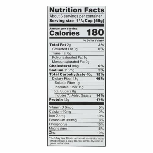 Kashi Cereal - Multigrain - Golean - Original - 13.1 oz - case of 10 Perspective: back