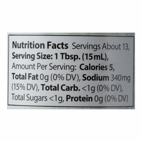 Eden Foods Ponzu Sauce - Five Flavor Seasoning - 6.75 oz - Pack of 3 Perspective: back