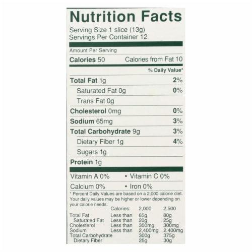 Wasa Gluten-Free Original Crispbread  - Case of 10 - 5.4 OZ Perspective: back