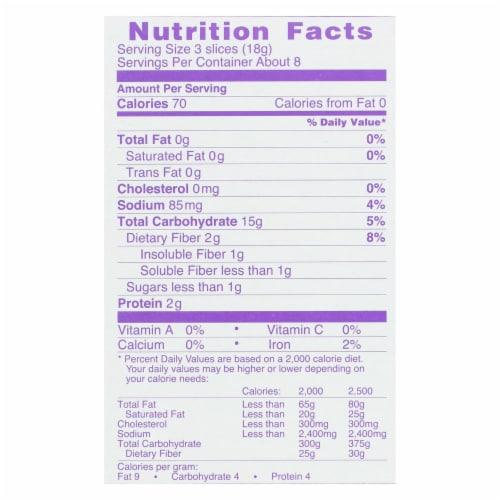 Wasa Crispbread Crisp 'N Light 7 Grain Crackerbread - Case of 10 - 4.9 oz. Perspective: back