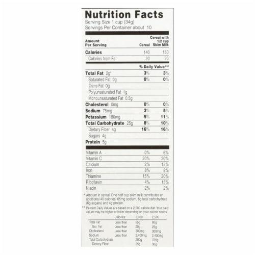 Arrowhead Mills - Oat Bran Flake - Blend Cereal - Case of 12 - 12 oz. Perspective: back
