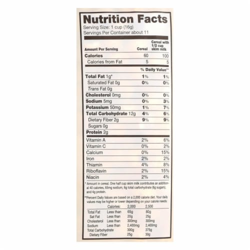 Arrowhead Mills - All Natural Puffed Corn Cereal - Case of 12 - 6 oz. Perspective: back