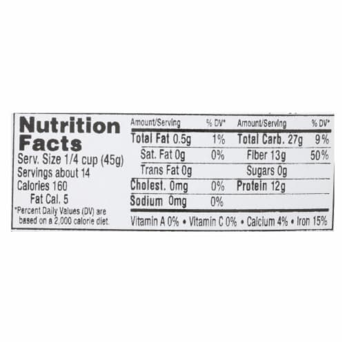 Aurora Natural Products - Organic Brown Lentils - Case of 10 - 22 oz. Perspective: back