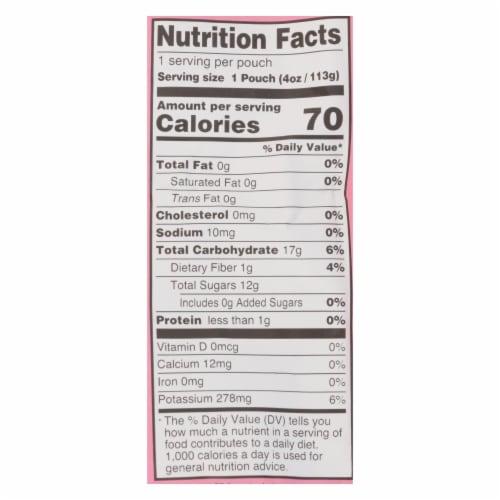 Peter Rabbit Organics Fruit Snacks - Strawberry and Banana - Case of 10 - 4 oz. Perspective: back