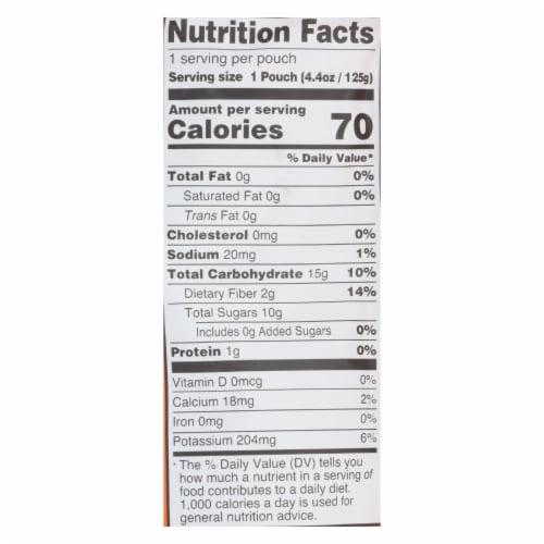 Peter Rabbit Organics Baby Food-Vegetable and Fruit Puree-Pumpkin Carrot,Apple-4.4oz-10Case Perspective: back