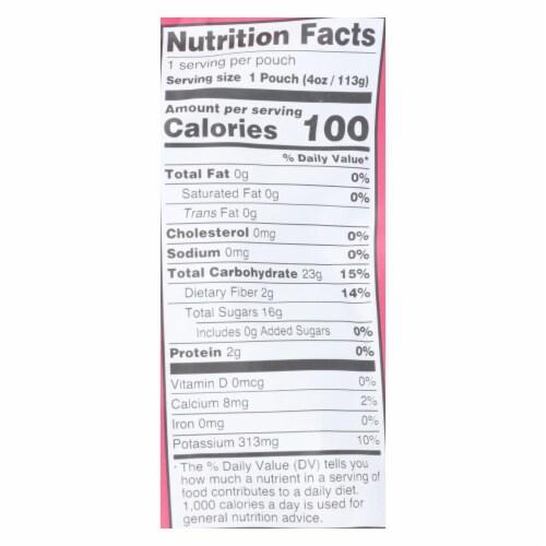 Peter Rabbit Organics Fruit Snacks - Raspberry Banana and Blueberry - Case of 10 - 4 oz. Perspective: back