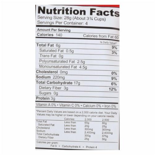 Popcorn Indiana Fit Popcorn - Pink Himalayan Salt - Case of 12 - 4.4 oz. Perspective: back