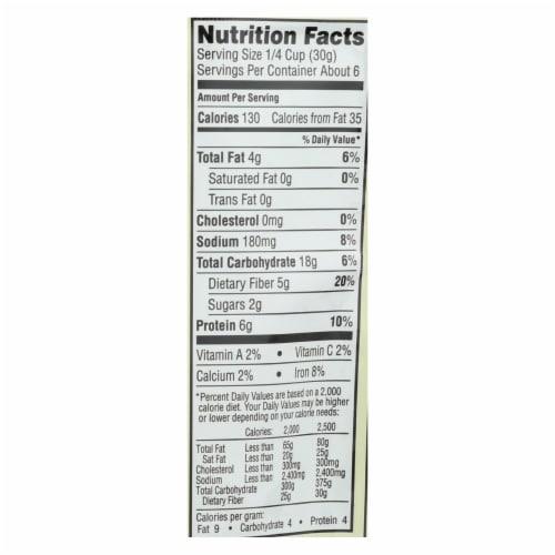 Saffron Road Crunchy Chickpeas - Chipotle - Case of 12 - 6 oz. Perspective: back