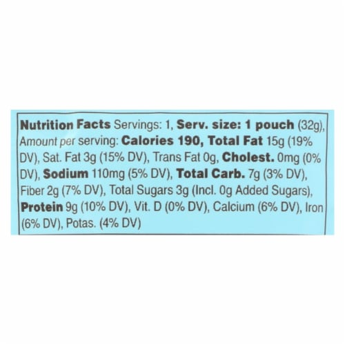 RxBar - Nut Butter - Vanilla Almond - Case of 10 - 1.13 oz. Perspective: back