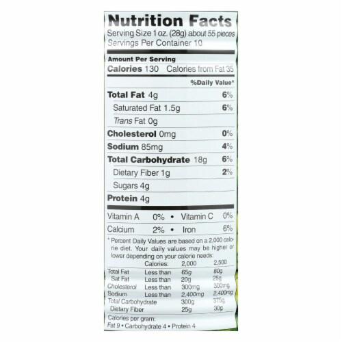 Hapi Green Peas - Hot Wasabi - Case of 12 - 9.9 oz. Perspective: back