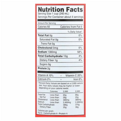 Tabasco Original Red Sauce - Case of 12 - 32 Fl oz. Perspective: back