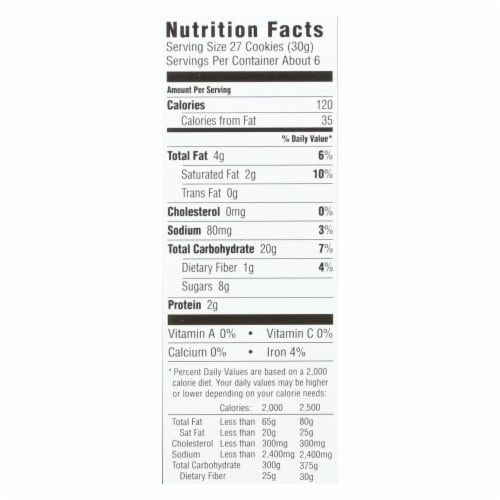 Annie's Homegrown Gluten Free Cocoa and Vanilla Bunny Cookies - Case of 12 - 6.75 oz. Perspective: back