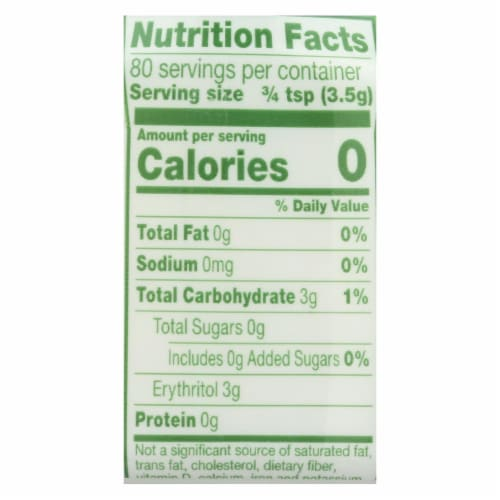 Truvia Natural Spoon able Sweetener - Case of 12 - 9.8 oz. Perspective: back