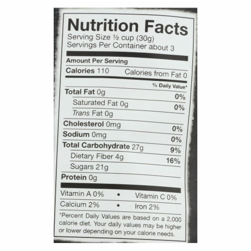 Bare Fruit Apple Chips - Organic - Crunchy - Simply Cinnamon - 3 oz - case of 12 Perspective: back