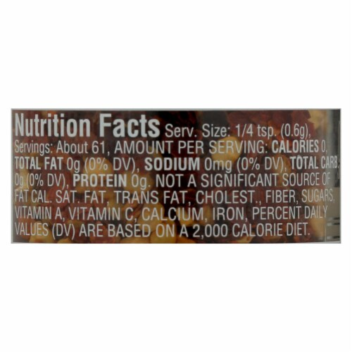 Morton And Bassett 100% Organic Red Chili Flakes - Case of 12 - 1.3 OZ Perspective: back