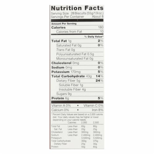 Kashi Cereal - Organic - Whole Wheat-Organic Promise - Cinnamon Harvest - 16.3oz -case of 12 Perspective: back