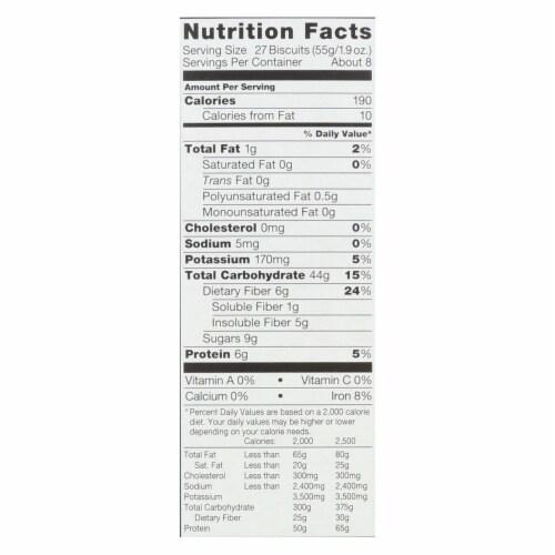 Kashi Cereal - Organic-Whole Wheat - Organic Promise - Island Vanilla - 16.3 oz - case of 12 Perspective: back