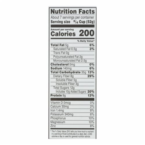 Kashi Cereal - Multigrain - Golean - Crunch - Honey Almond Flax - 14 oz - case of 12 Perspective: back