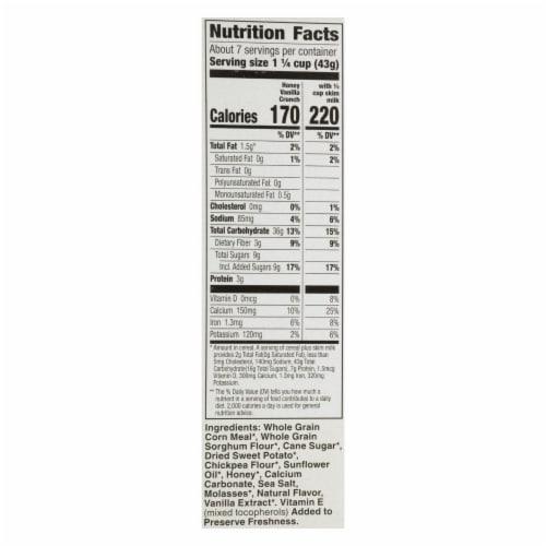 Cascadian Farm - Cereal Hny Vanilla Crunch - Case of 12 - 10.5 OZ Perspective: back