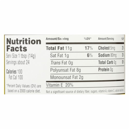 Hain Mayonnaise - Safflower - Case of 12 - 12 oz. Perspective: back