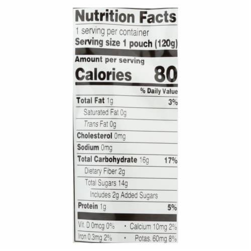 Earths Best Baby Food-Org-Puree-Age 6 Months Plus-Stage 2-Apple Peach Oatmeal-4.2oz-12Case Perspective: back