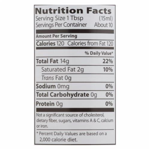 Eden Foods Sesame Oil - Toasted - 5 oz - case of 12 Perspective: back
