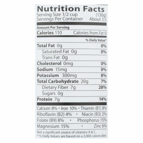 Eden Foods Navy Beans - Organic - Case of 12 - 15 oz. Perspective: back