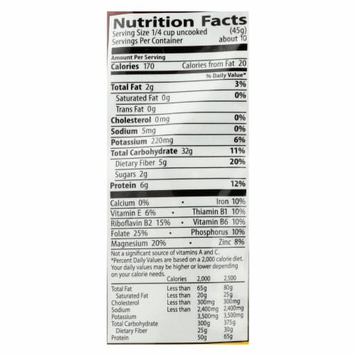 Eden Foods Red Quinoa - Organic - Case of 12 - 16 oz. Perspective: back