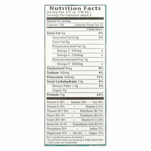 Eden Foods Original Eden soy Organic - Extra - Case of 12 - 32 Fl oz. Perspective: back