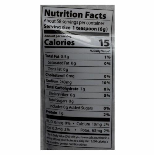 Eden Foods Organic Hacho Miso - Case of 12 - 12.1 oz Perspective: back
