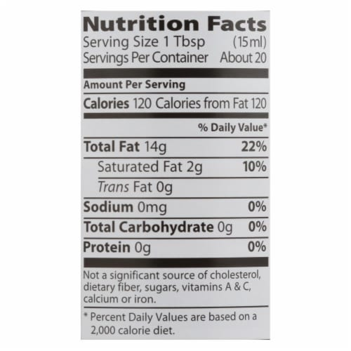 Eden Foods - Sesame Oil Toasted - Case of 12 - 10 FZ Perspective: back