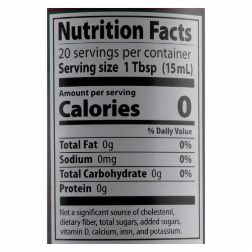 Eden Foods Organic Vinegar - Brown Rice - Case of 12 - 10 fl oz Perspective: back
