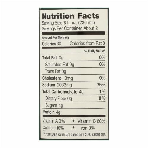 Frank's Kraut Juice - Case of 12 - 14 fl oz Perspective: back