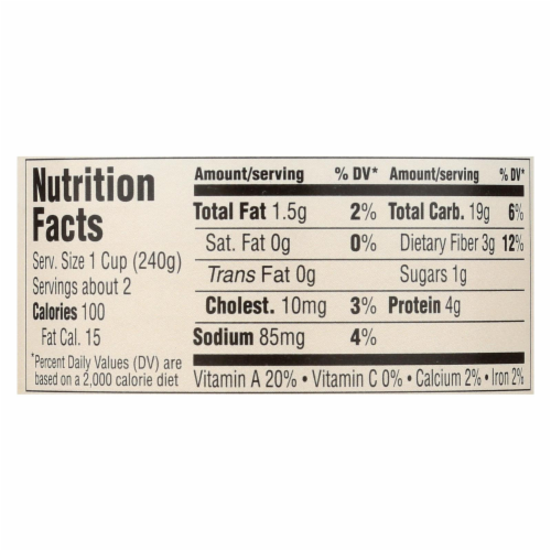 Health Valley Organic Soup - Chicken Rice No Salt Added - Case of 12 - 15 oz. Perspective: back