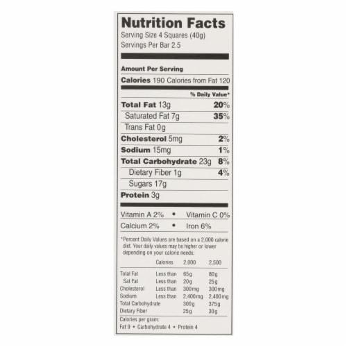 Lindt - Bar Chocolate Excel Orange - Case of 12-3.5 oz Perspective: back