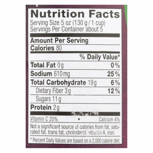 Hengstenberg Red Cabbage with Apple - Case of 12 - 24.3 oz. Perspective: back