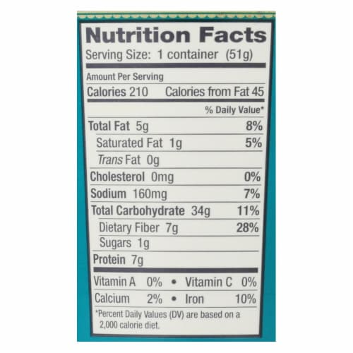 Bob's Red Mill - Gluten Free Oatmeal Cup Classic with Flax/Chia - 1.81 oz - Case of 12 Perspective: back