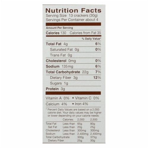 Blue Diamond - Artesion Nut Thins - Sesame Seed - Case of 12 - 4.25 oz. Perspective: back