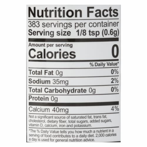 Rumford Baking Powder - Reduced Sodium - Case of 12 - 8.1 oz. Perspective: back