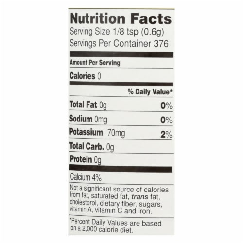 Hain Baking Powder - Featherweight - Case of 12 - 8 oz. Perspective: back