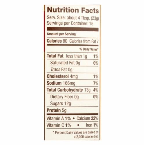Saco Foods Buttermilk Powder Blend - Cultured - 12 oz - case of 12 Perspective: back