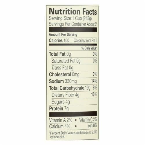 Amy's - Organic Low Salt Split Pea Soup - Case of 12 - 14.1 oz Perspective: back